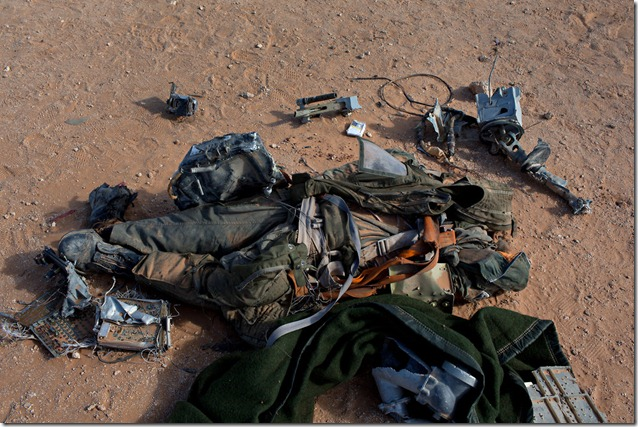 LIBYA-pilot fake